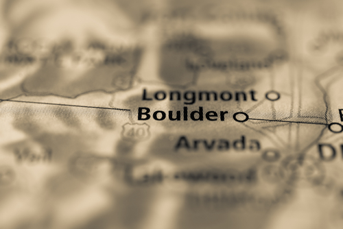 map showing boulder