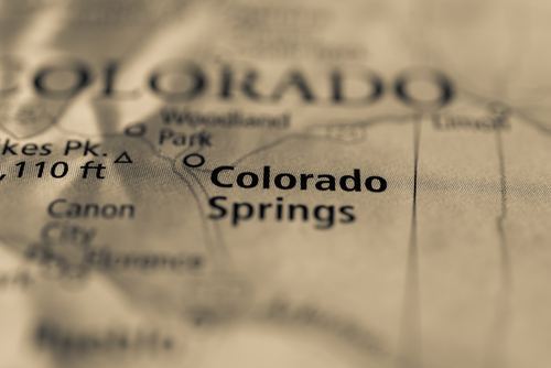 map of colorado springs